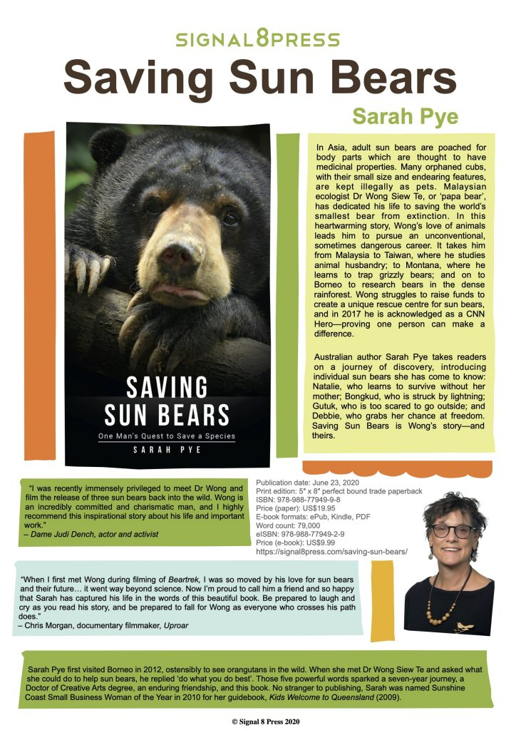 Saving Sun Bears Flyer
